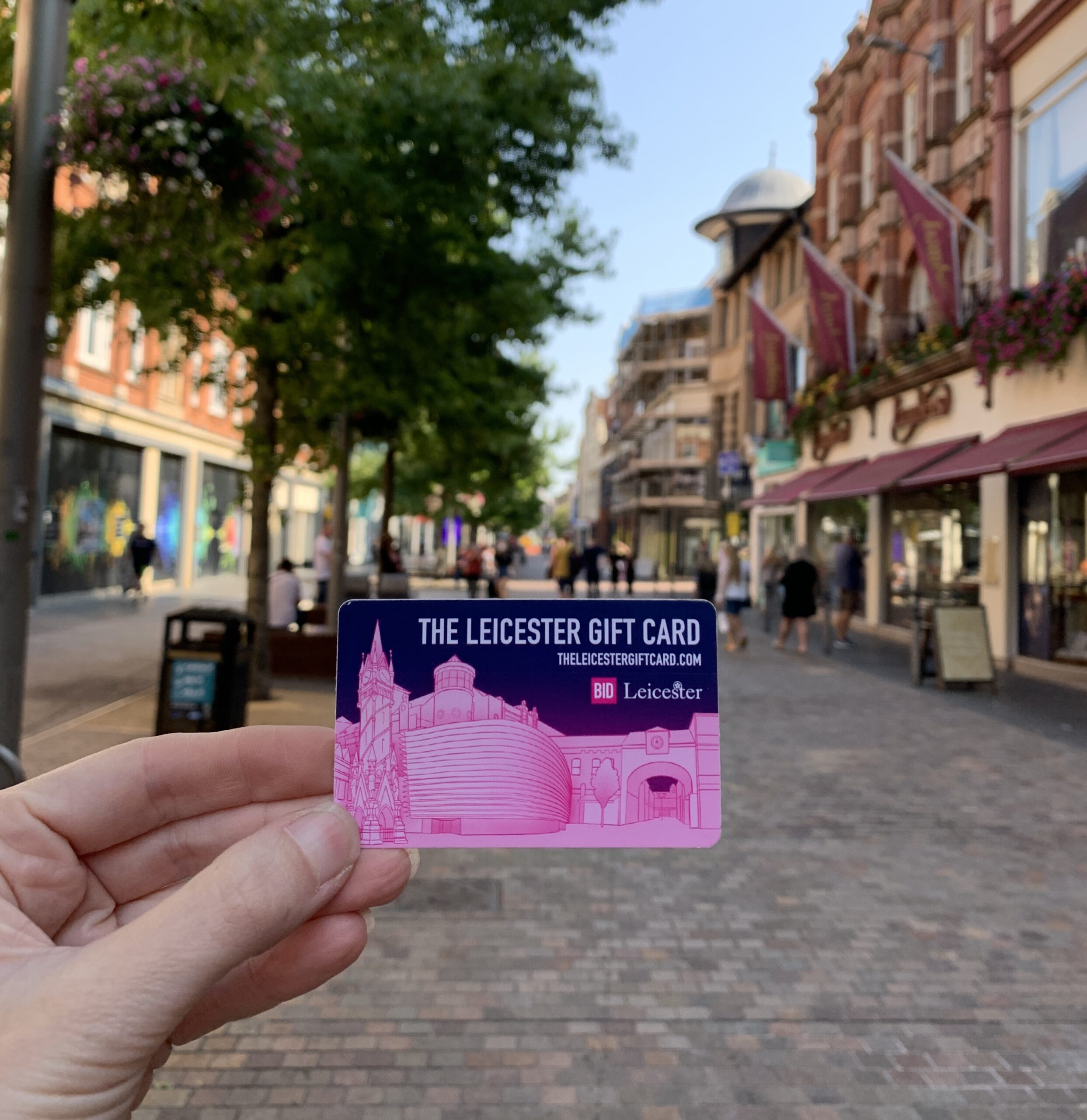 leicester gift card