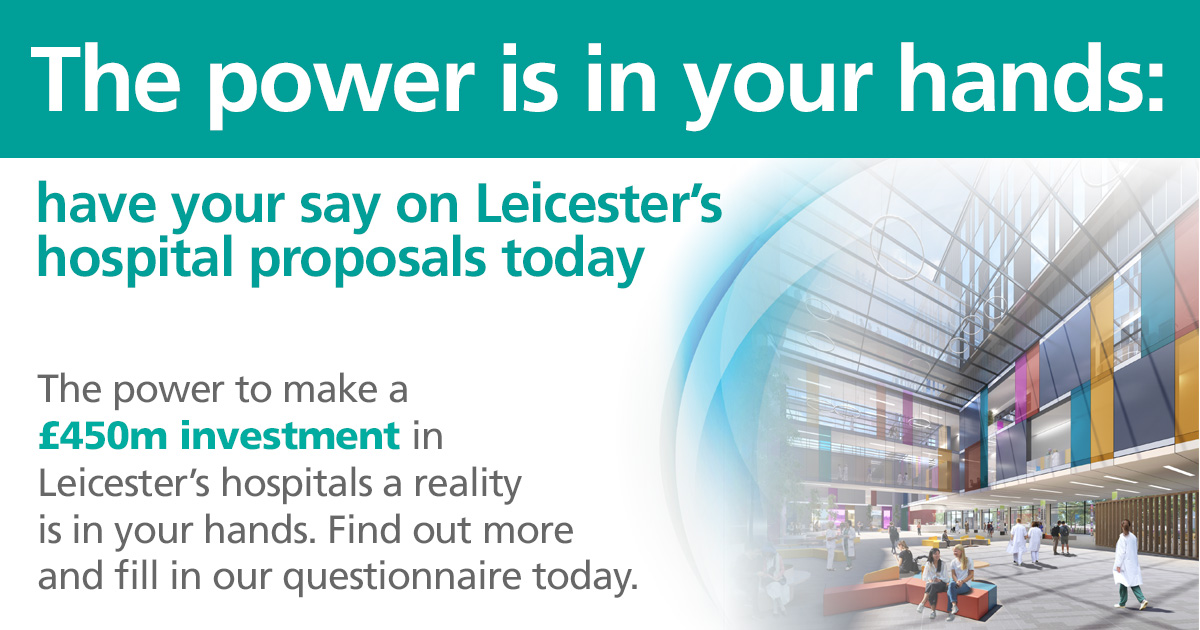 nhs leicester advert