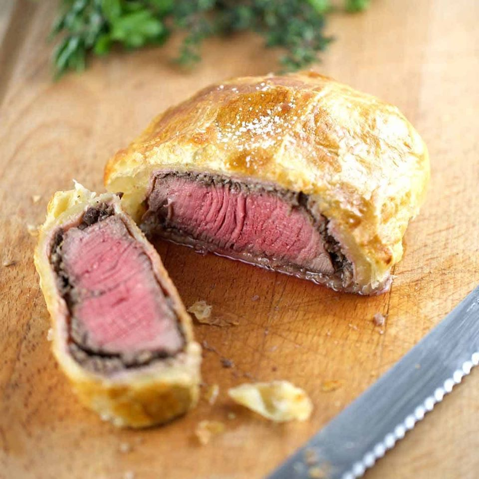 beef wellington leicester