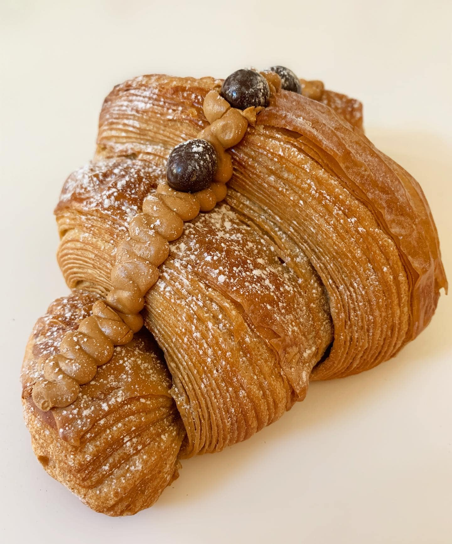 coffee croissant leicester