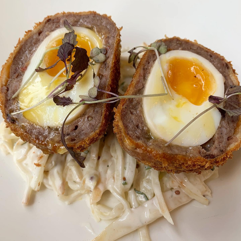 scotch egg leicester