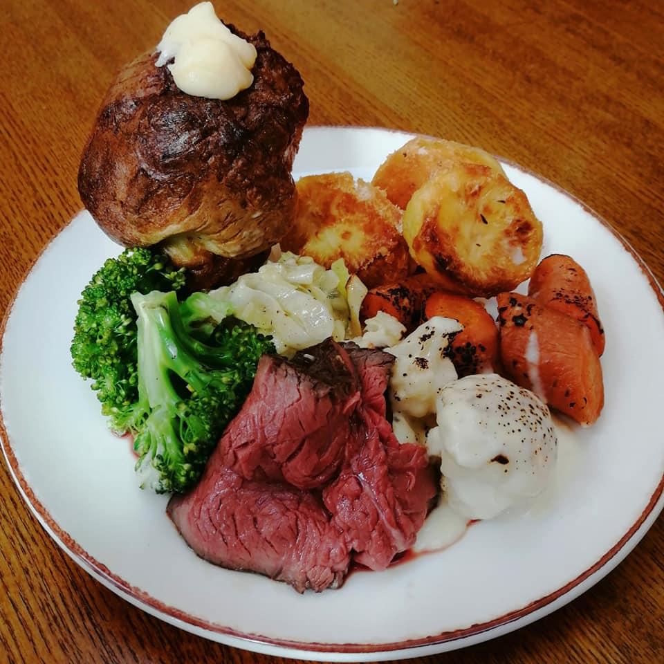 roast dinner leicestershire