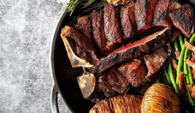 black iron steak leicester