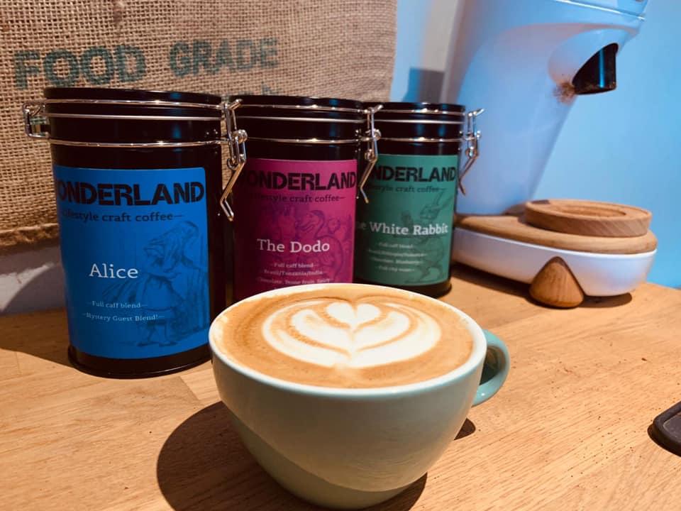 wonderland coffee leicester