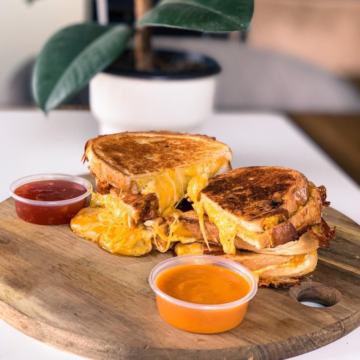 st martin's coffee grilled cheese