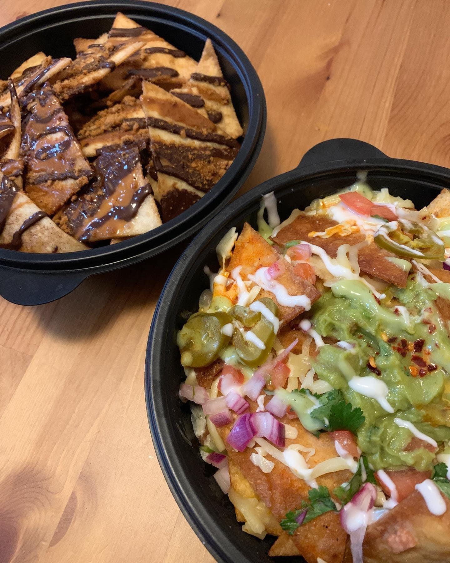 wako taco nachos