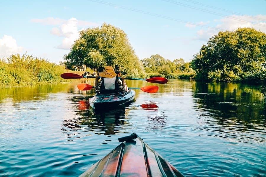kayaking leicester