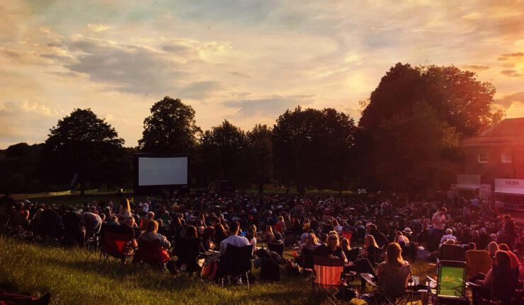 outdoor cinema leicester