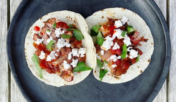 smoqued tacos