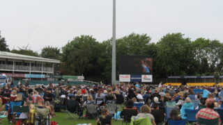outdoor cinema cricket leicester