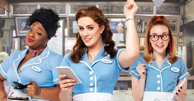 waitress leicester theatre