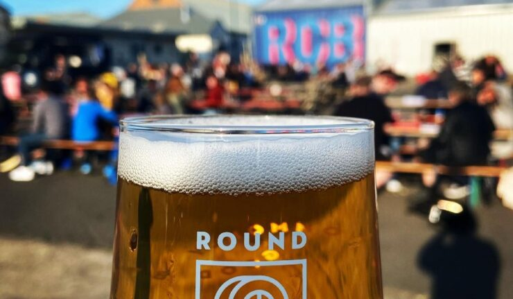 round corner beer