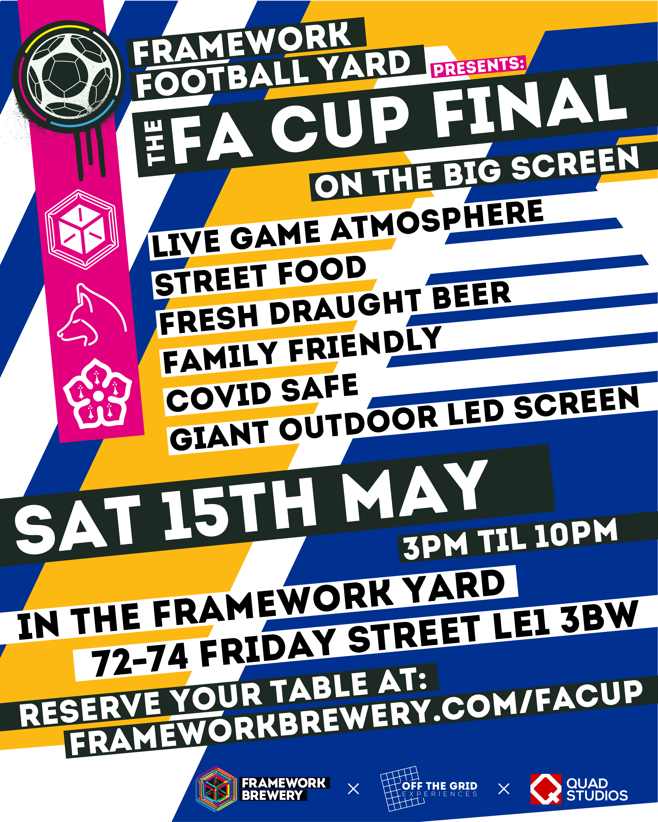 fa cup final leicester screening