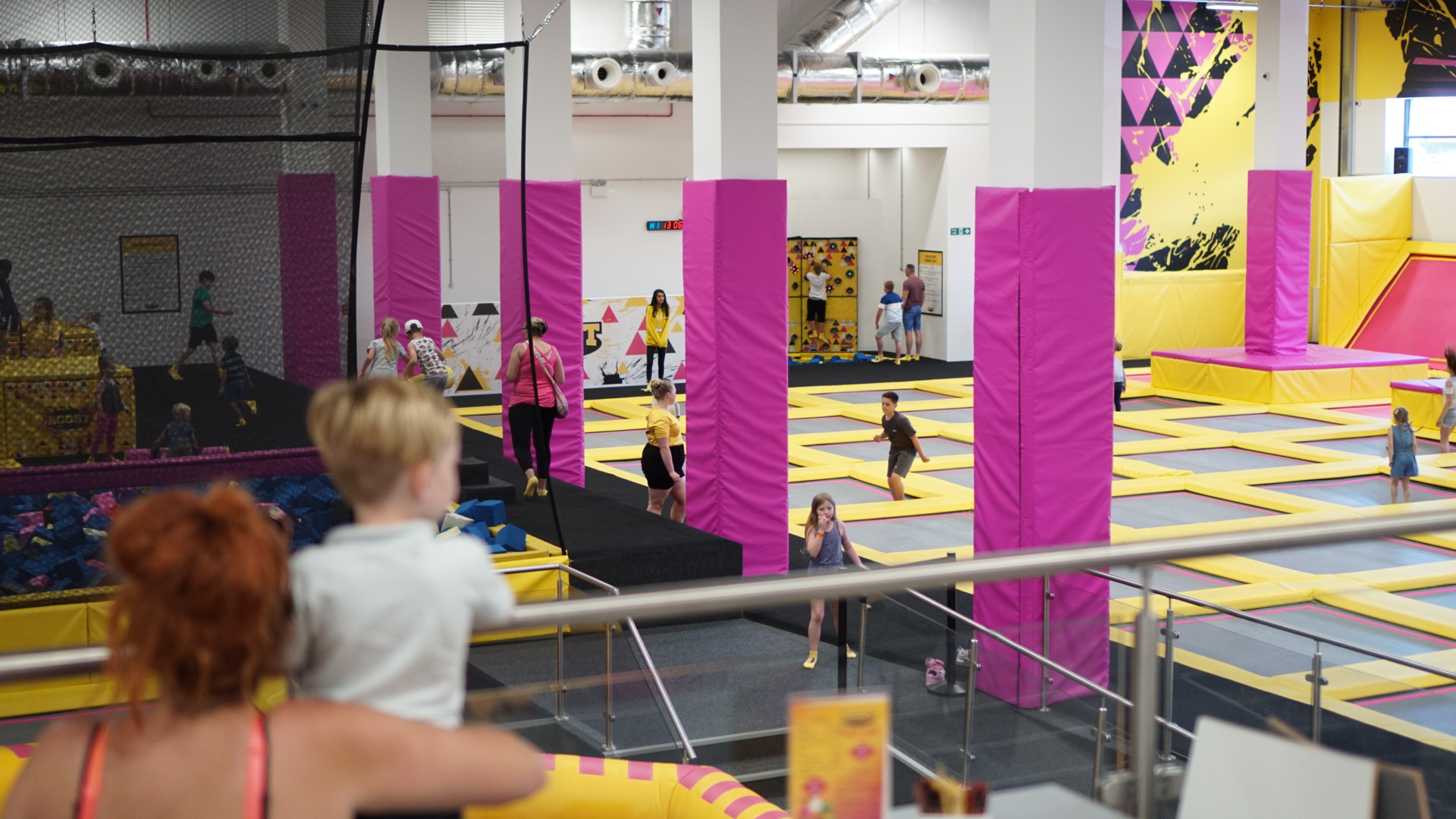 boost trampoline leicester
