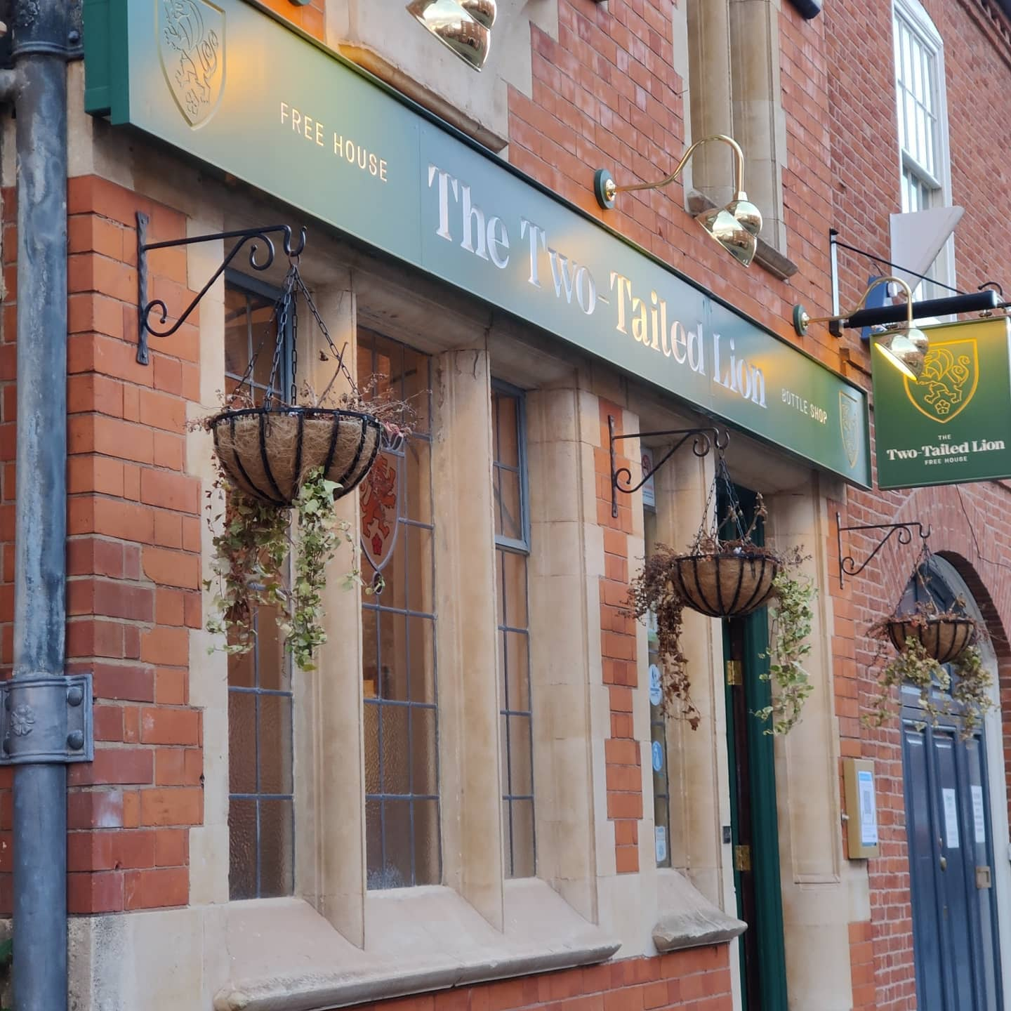 two tailed lion leicester