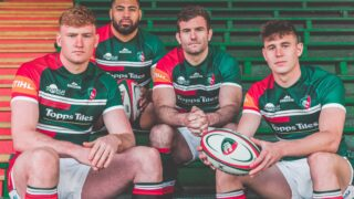 leicester tigers new kit