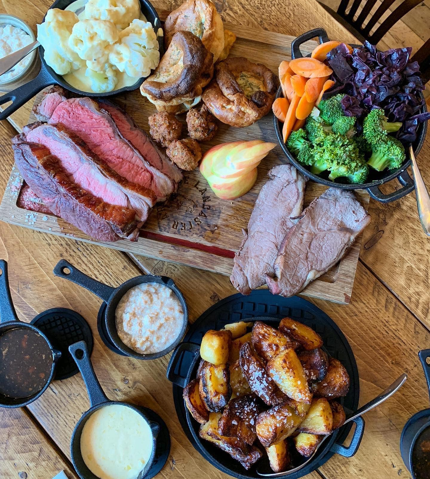 lancaster arms desford sunday lunch