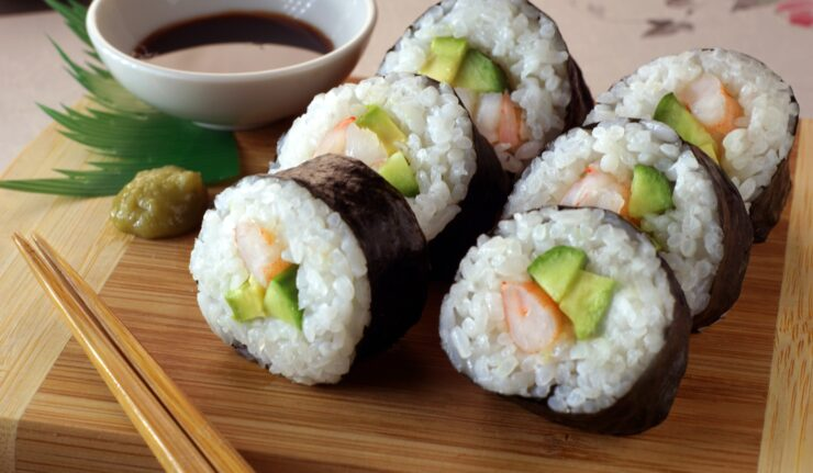 sushi leicester