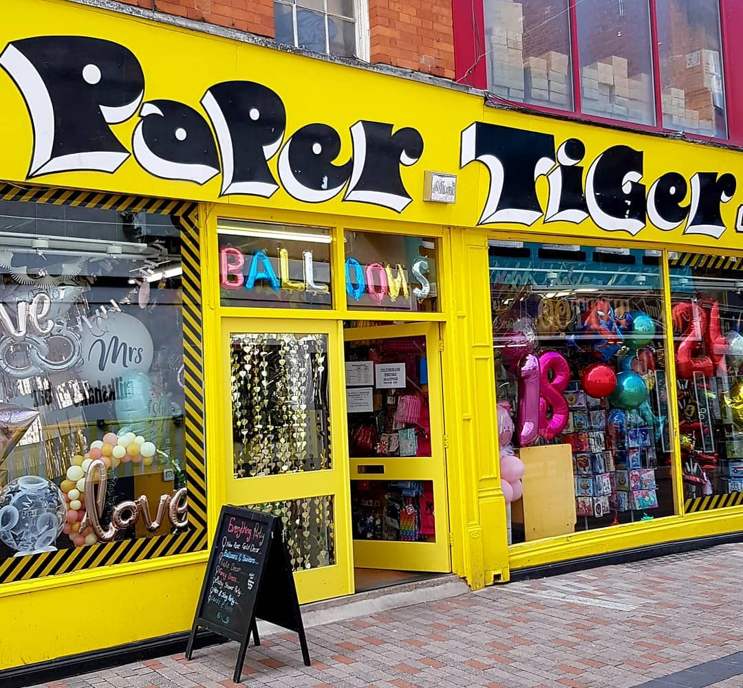 paper tiger leicester