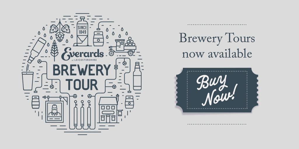 everards brewery tour
