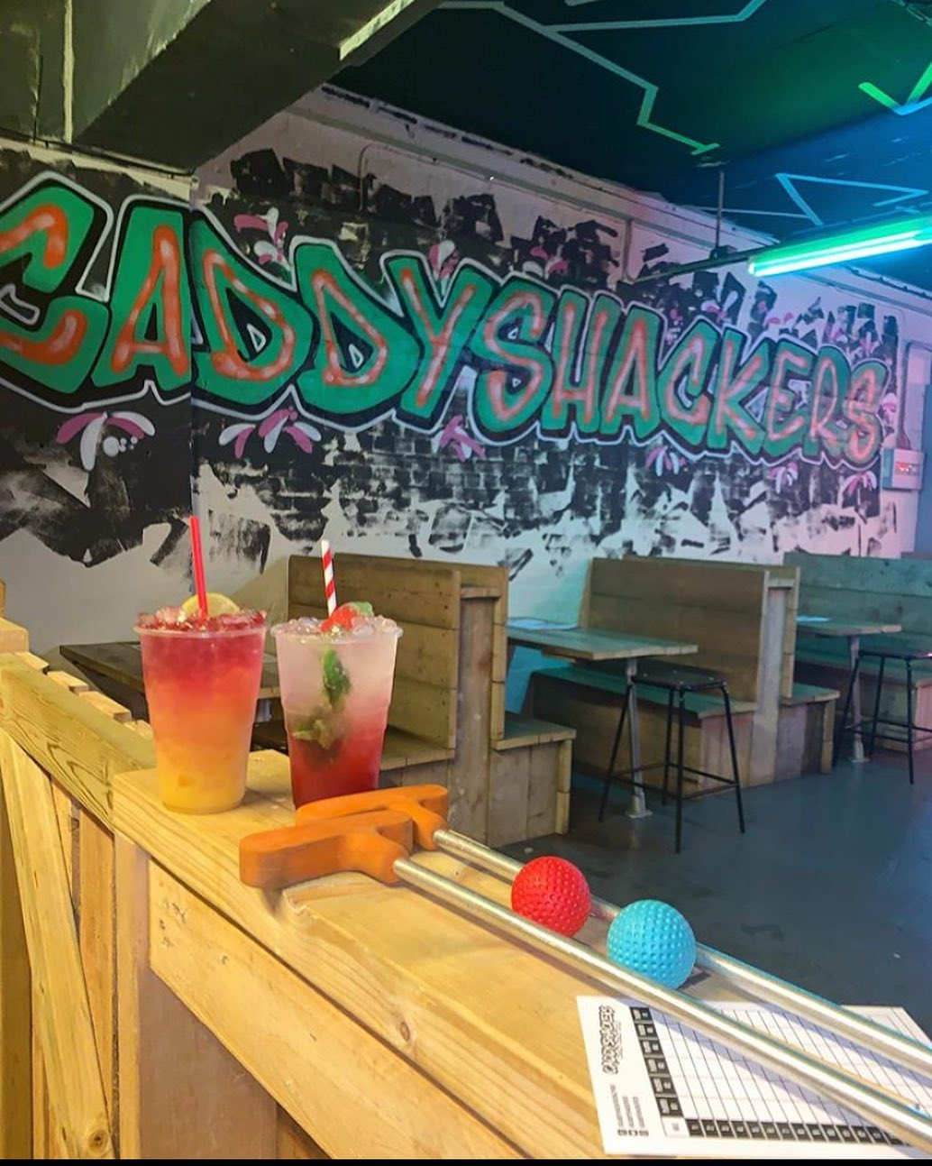 caddyshackers leicester